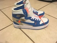 Blue-and-white air jordan 1's Gainesville, 32608