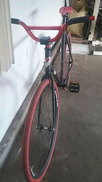 black and red fixie South Gate, 90280