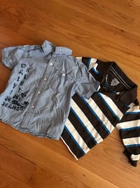 Boys 3t Calvin Klein and TCP shirts  Brampton, L6R 0P7