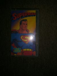 Very first superman cartoons on vcr Wichita, 67203