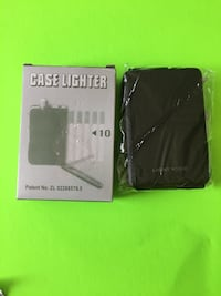 Cigarettes case with lighter Longueuil, J4K