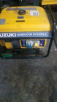 yellow and black Champion portable generator Sunnyvale, 94087