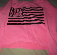 pink and black Pink by Victoria's Secret sweater Turlock, 95380