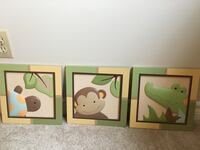 Baby room wooden wall decor Burlington, L7M 1K1