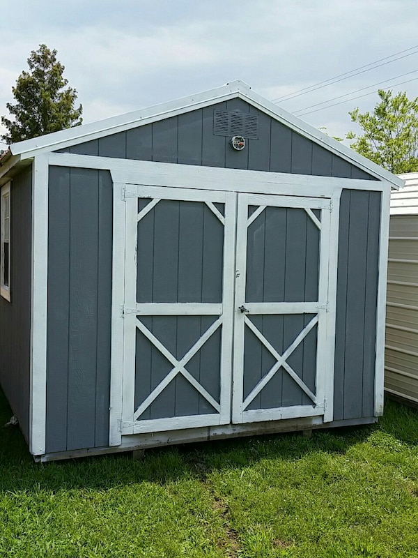 REPO USED 10X12 Derksen Utility Shed