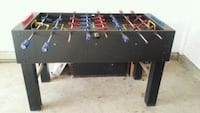 black and red foosball table Gainesville, 20155