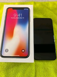 iPhone 10 Black 64GB (Perfect Condition) Pickering
