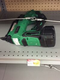 green and black Hitachi corded power tool Houston, 77015