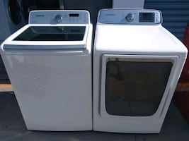 Samsung whaser and dryer set