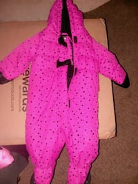 Brand New Snow Suit (12m old girls) Casper