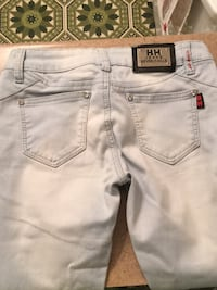 women's white denim shorts Montréal, H2N 1Y5