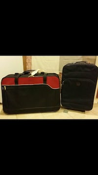 two black and red travel luggages Niles, 60714