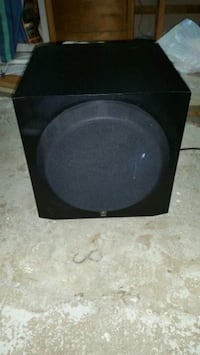 black and gray subwoofer speaker Bloomfield, 07003