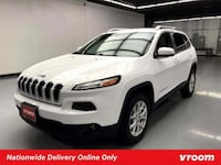 2015 Jeep Cherokee Bright White Clearcoat hatchback New York