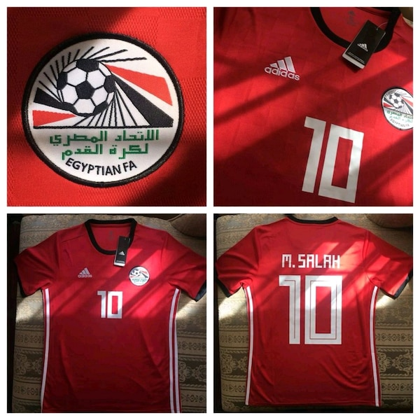 9c825ee602b Used MO SALAH EGYPT JERSEY WORLD CUP OF SOCCER for sale in Brampton ...