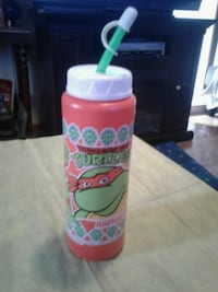 Vintage tmnt raphael drink bottle Hedgesville, 25427