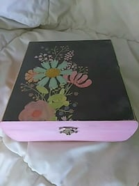 pink and black floral box Riverview, 48193