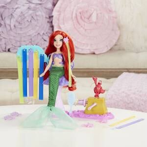 ~BRAND NEW ~ Disney Princess ARIEL Royal ribbon salon Playset ecf08702-b2d6-435c-8020-d0cc071c5a05
