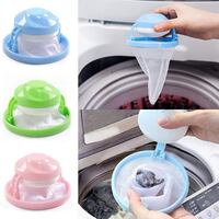 edited New Home Floating Lint Hair Catcher Mesh Pouch Laundry Filter Bag Net Pouc Clothes Pins Palm Coast