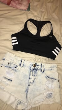 black and white tank top Los Angeles, 90501