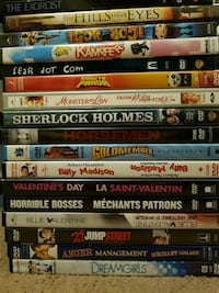 assorted DVD movie case lot Calgary, T2A