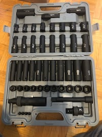 Maximum impact socket set Pickering, L1V