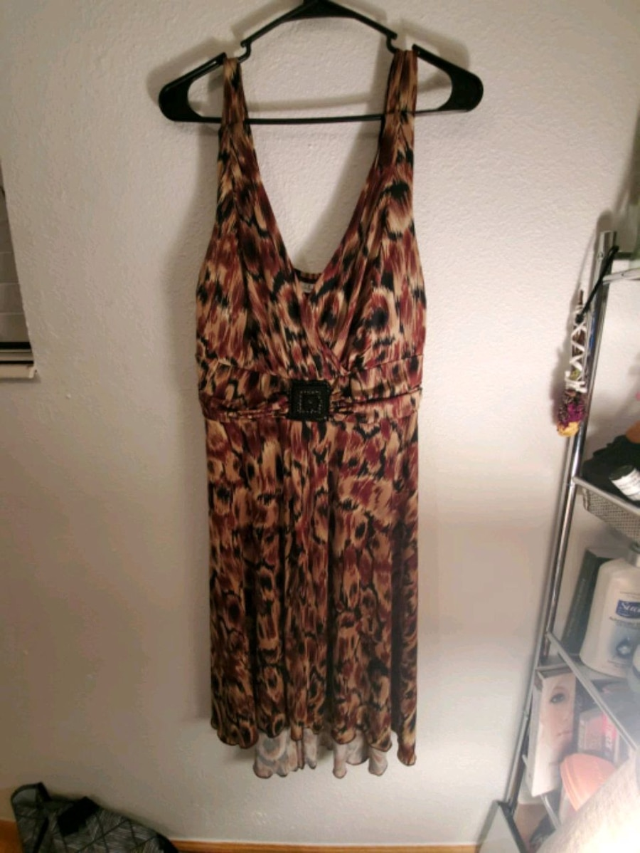 Photo Never worn En Focus V Line Dress