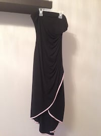 Women's black sleeveless dress size 8