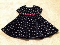 Brand new The Children's Place toddler velvet holiday dress 3t  40 km
