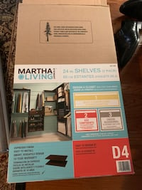 Martha Stewart Living Closet Organizational Pieces Falls Church, 22043