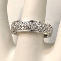 14K Gold  Half Eternity Diamond Wedding Ring Band *Appraised at $3,800 Vaughan, L4J