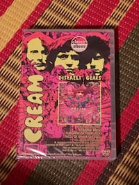 New sealed Cream Disraeli Gears DVD Toronto, M2M 4J2