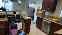 Brown Shaker Kitchen cabinets Used