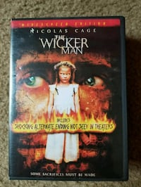 Wickerman DVD  Washington, 20010
