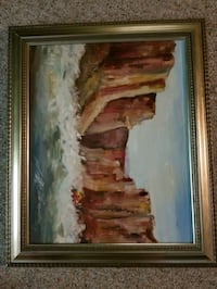Colorado River in grand canyon painting