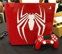 PlayStation 4 Pro 1TB Spiderman Madrid