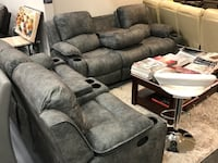 Sofa and loveseat with speaker  Dallas, 75247