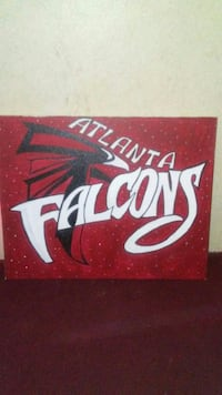 Falcons painting