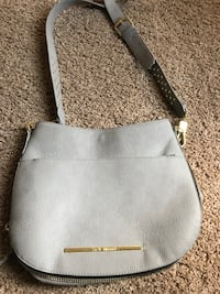 Gray Steve Madden leather crossbody.  Williamsport, 21795