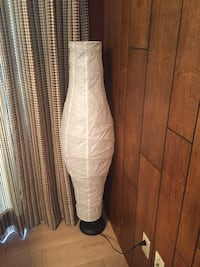 White and gray floor lamp Surrey, V3T 2Z6