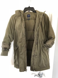 Girls GapKids Parka Army Jacket, Size M Germantown, 20876