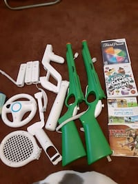 Wii remotes games assories