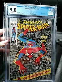 100th Anniversary Edition Spider-Man Comic