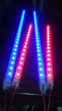 Custom Car interior LED light bars