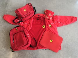 Ultimate vintage Ferrari merch collection