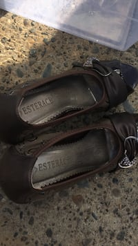 pair of black leather sandals North Highlands, 95660