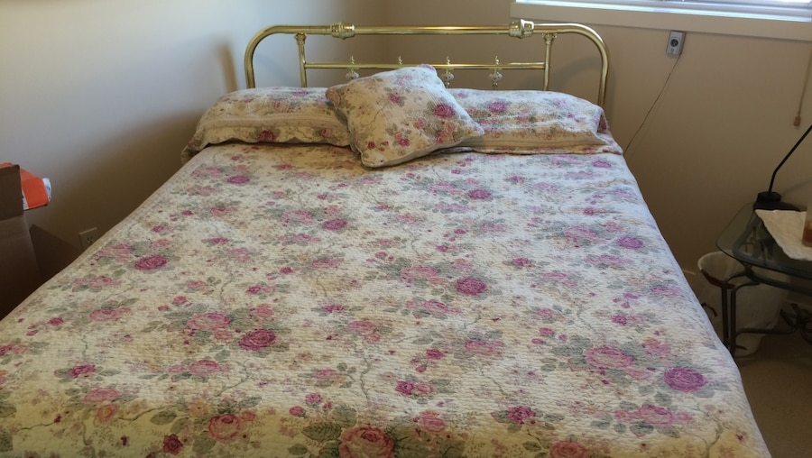 Bed For Sale Frame Box Spring Mattress And Headboard