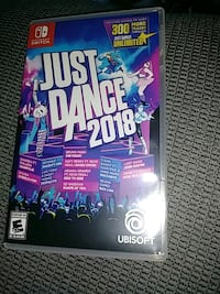 Just dance2018 (Nintendo switch ) Lorton, 22079