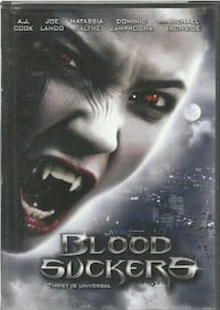 dvd BLOOD SUCKERS Thirst Is Universal pre-owned dv Newmarket
