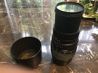 Sigma 70-300mm lens excellent condition for Canon cameras Newmarket, L3X 2E6